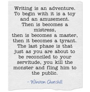 Writing-is-an-adventure
